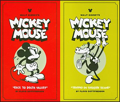 WALT DISNEY'S MICKEY MOUSE Volume 1 & 2 Collector's Box Set-0