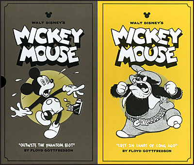 WALT DISNEY'S MICKEY MOUSE Volume 5 & 6 Collector's Box Set-0