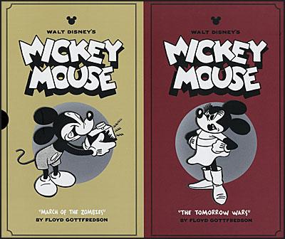 WALT DISNEY'S MICKEY MOUSE Volume 7 & 8 Collector's Box Set-0