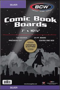 BACKING BOARDS Silver Age (100)