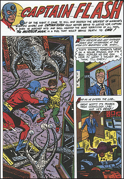 CAPTAIN FLASH WITH THE TORMENTED Slipcased