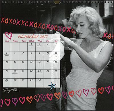 MARILYN MONROE 2017 Calendar