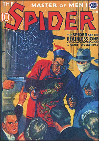 THE SPIDER MASTER OF MEN #10