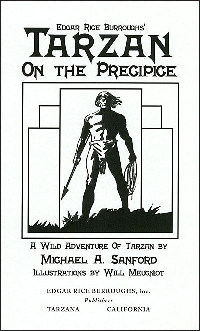 TARZAN ON THE PRECIPICE