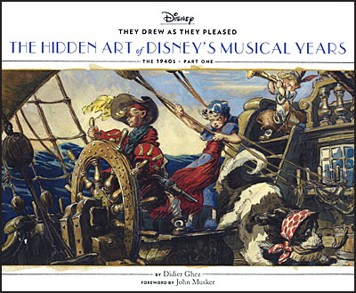 THEY DREW AS THEY PLEASED The Hidden Art of Disney's Musical Years