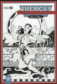 AMERICA'S BEST COMICS Artist's Edition J.H. Williams III Variant