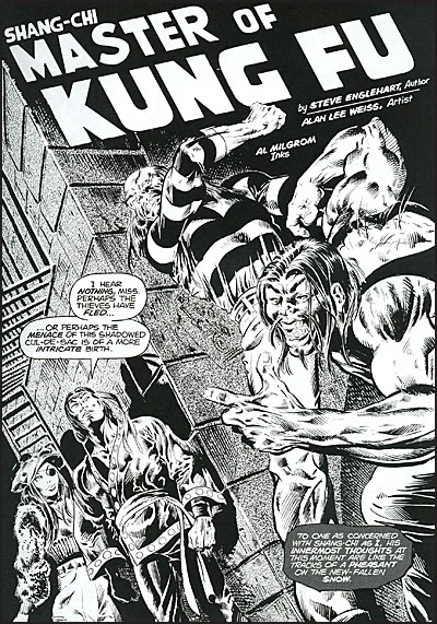 DEADLY HANDS OF KUNG FU OMNIBUS Dell'Otto Cover