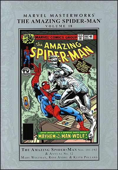 MARVEL MASTERWORKS AMAZING SPIDER-MAN Volume 18