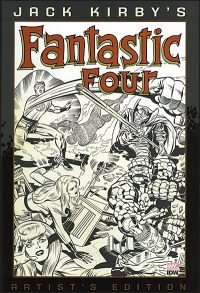 JACK KIRBY FANTASTIC FOUR Artist's Edition Hardcover