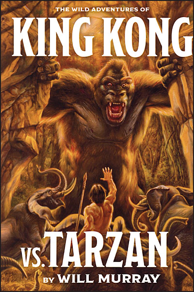 THE WILD ADVENTURES OF KING KONG VS TARZAN Deluxe Hardcover Signed