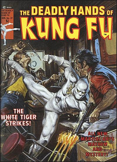 DEADLY HANDS OF KUNG FU OMNIBUS Volume 2 Dekal Cover