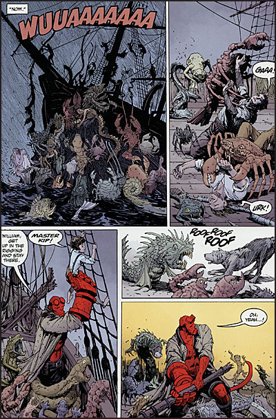 HELLBOY INTO THE SILENT SEA Signed