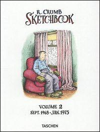 R. CRUMB SKETCHBOOK Volume 2 1968-1975