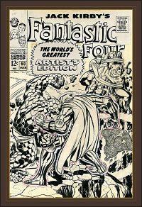 JACK KIRBY FANTASTIC FOUR The World's Greatest Artist's Edition