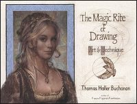 THE MAGIC RITE OF DRAWING Art & Technique Signed