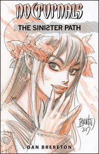 NOCTURNALS The Sinister Path Signed with Drawing