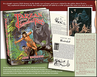 TARZAN AND THE CANNIBAL KING Deluxe Signed