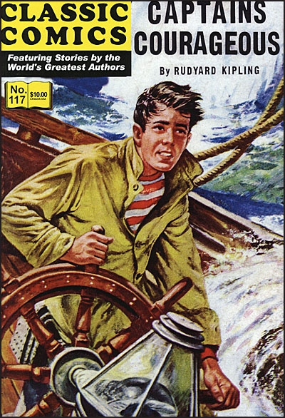 CLASSIC COMICS #117 Captains Courageous