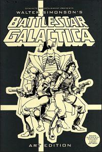 WALTER SIMONSON'S BATTLESTAR GALACTICA Art Edition Signed
