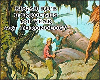 EDGAR RICE BURROUGHS 100 YEAR ART CHRONOLOGY Leatherbound Slipcase Set