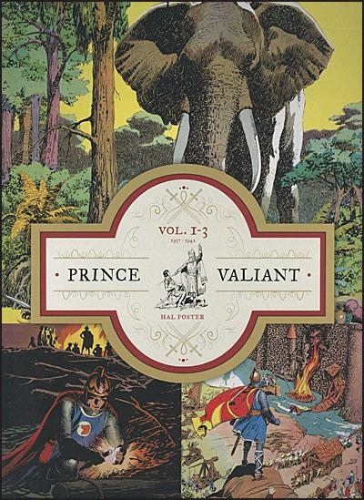 PRINCE VALIANT 1-3 Slipcase Set