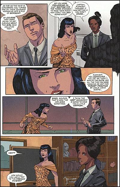BETTIE PAGE #6 Comic Set