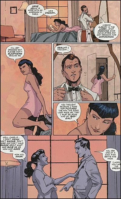 BETTIE PAGE #6 Comic Set6
