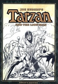 JOE KUBERT TARZAN AND THE LION MAN Artist's Edition Volume 3