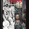 The Thicker than Blood Collected Artwork Edition is an oversized hardcover art book. It collects and reproduces all of the original artwork that was produced for a three-issue comic series written by Simon Reed, penciled and inked by Mike Ploog and painte