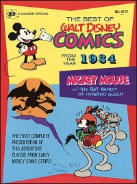THE BEST OF WALT DISNEY COMICS From the Year 1934
