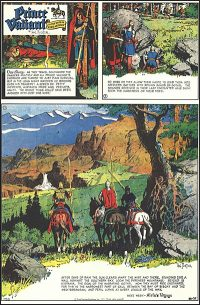 PRINCE VALIANT HAL FOSTER FINAL PAGE