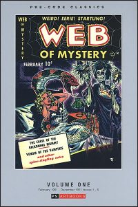 PRE-CODE CLASSICS WEB OF MYSTERY Volume 1