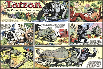 EDGAR RICE BURROUGHS TARZAN Volume 5 Tarzan and the Adventurers