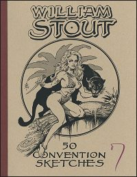 WILLIAM STOUT CONVENTION SKETCHES #7 Signed