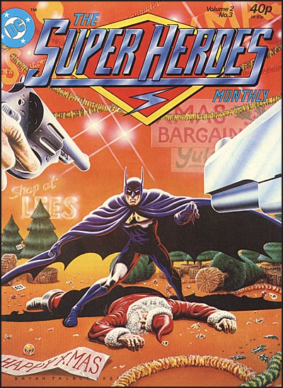 THE SUPER HEROES MONTHLY MAGAZINE Set