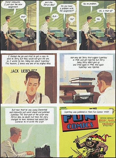 THE ARTIST BEHIND SUPERMAN The Joe Shuster Story