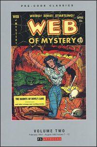 PRE-CODE CLASSICS WEB OF MYSTERY Volume 2
