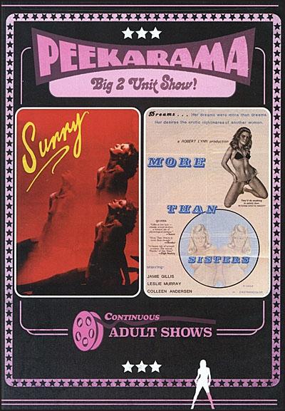 PEEKARAMA Sunny & More Than Sisters DVD