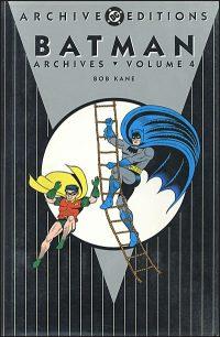 BATMAN ARCHIVES VOLUME 4