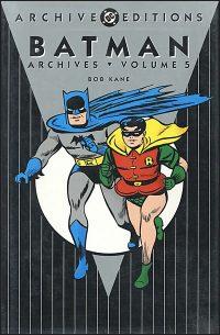 BATMAN ARCHIVES VOLUME 5