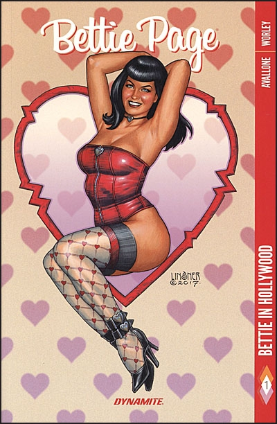 BETTIE PAGE #1 Bettie in Hollywood