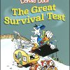 DISNEY MASTERS Volume 4 Donald Duck The Great Survival Test