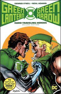 GREEN LANTERN GREEN ARROW Hard Traveling Heroes Hardcover
