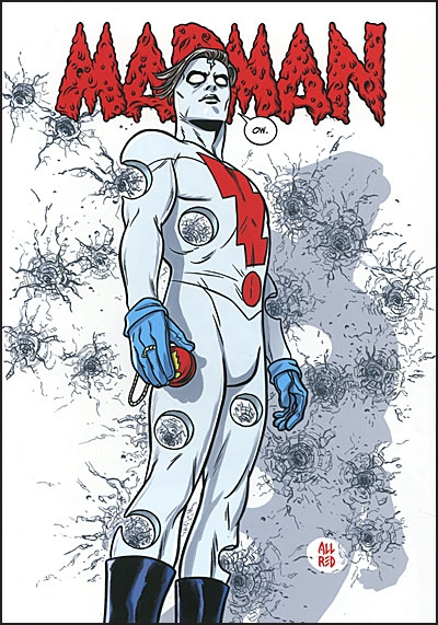 MICHAEL ALLREAD MADMAN Artist Select Deluxe Signed