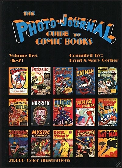 THE PHOTO-JOURNAL GUIDE TO COMIC BOOKS Volume 2