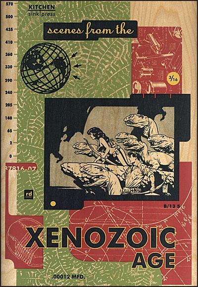 SCENES FROM THE XENOZOIC AGE DELUXE PORTFOLIO