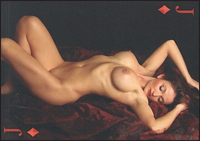 THE SENSUAL GODDESS Erotic Art Playing Cards