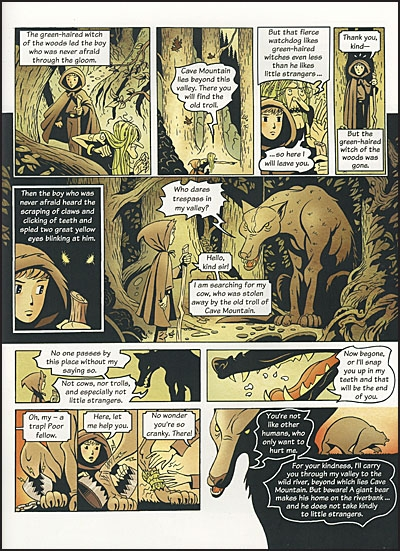 GIANTS, TROLLS, WITCHES, BEASTS Ten Tales From The Deep, Dark Woods