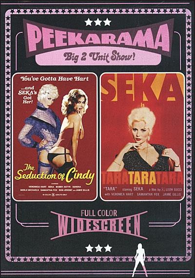 PEEKARAMA Seduction of Cindy & Tara Tara Tara DVD