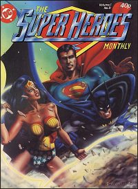 THE SUPER HEROES MONTHLY Volume 1 No. 9